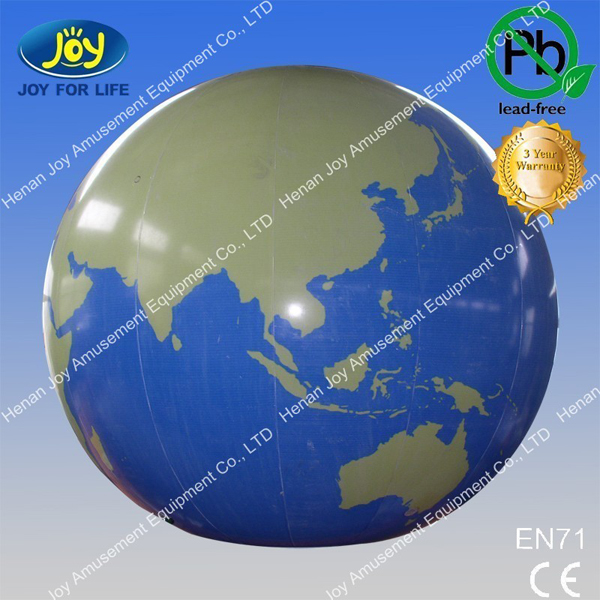 advertising promotion giant earth balloon/ inflatable planets