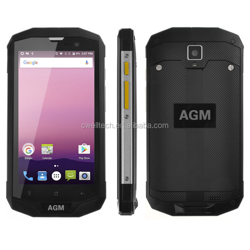 AGM A8 5.0 Inch Gorilla Glass 32GB ROM 4G LTE IP68 Waterproof <strong>Android</strong> Rugged Smartphone 4g mobile <strong>phone</strong> made in china