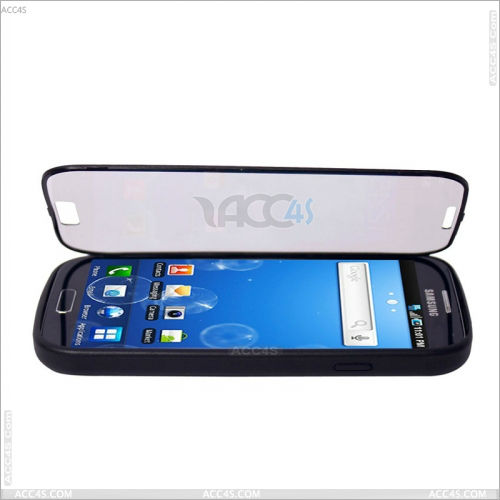 Transparent Front Cover With PC hard case for SAMSUNG Galaxy S4 S IV SIV S 4 Iv Gt-i9500 P-SAMI9500HC014