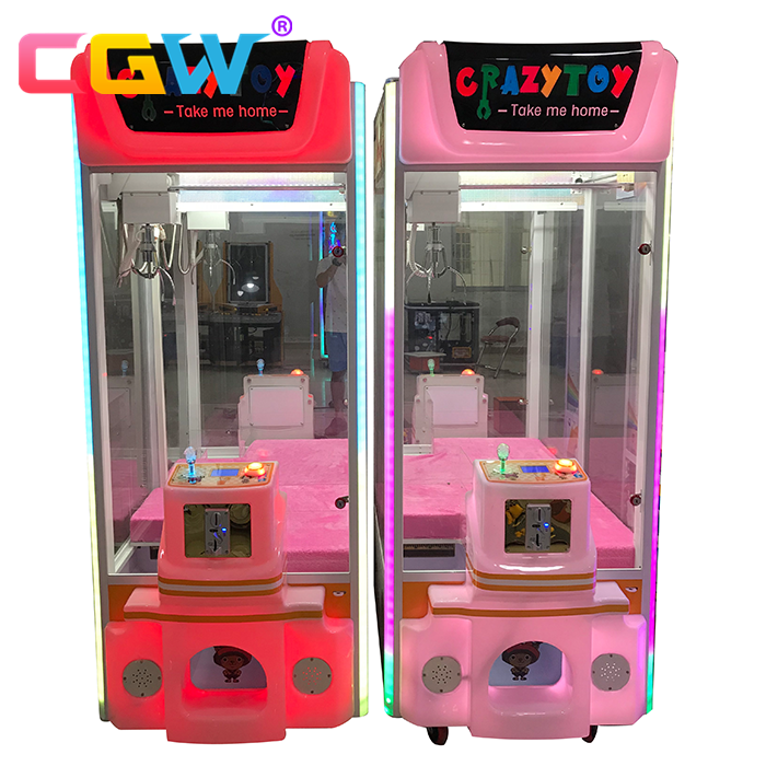 CGW claw crane machine mini,claw crane machine plush toys,claw crane machine toy crane game