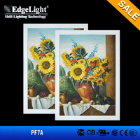 Edgelight Energy-saving plastic led tattoo light box with slow luminance decrease