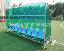 Anti-UV380 LEXAN clear polycarbonate sheet for team shelter/substitude bench/high impact resistance