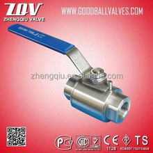 Full bore 2pc full bore class 800 forged steel ball valve for oil