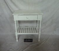 Home dinning storage shabby chic wooden table for living room