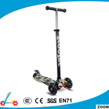 Wholesale china new design Kick scooter Cheap 3 wheel children scooter with plastic strong deck