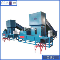 Waste hay bundling machine hay pressing machine