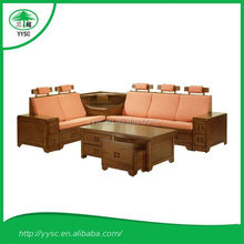Livingroom Furniture Wood sofa sets