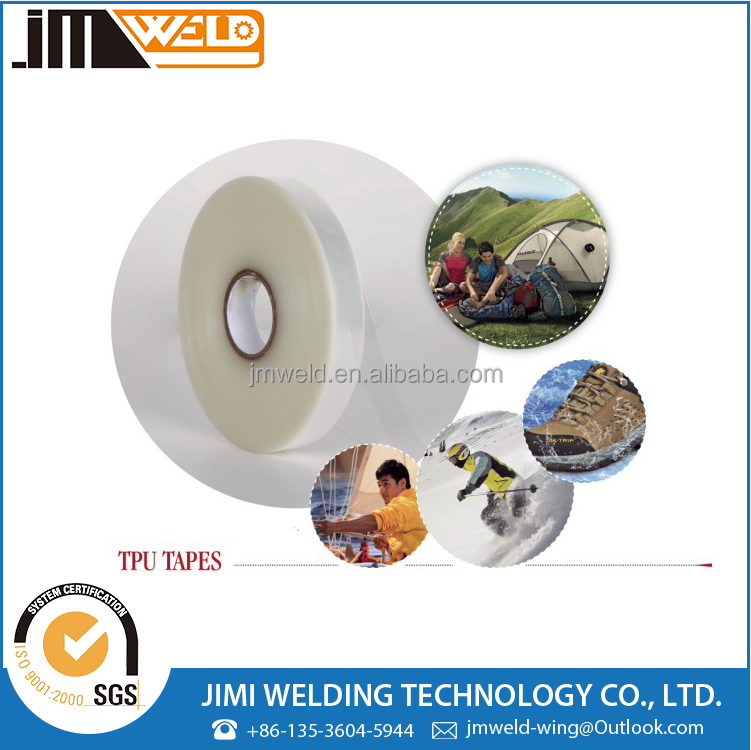 Low Bonding Apparel PU Seam Tape For Outdoor Garments,Tents, Shoes