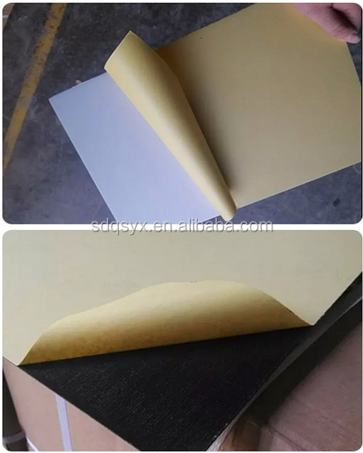 0.5 mm black and white solid 6 inch 18 inch self adhesive album page photo album supplies pvc