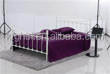new design bedroom furniture for youth metal bedBBKT006