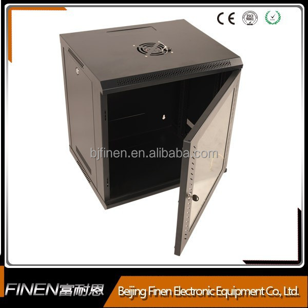 sheet metal 19 inch wall mounted electrical telecom box