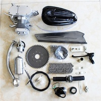 Chinese Credible Supplier 2 stroke 80cc bike gas engine kit electric start motorized bicycle kit