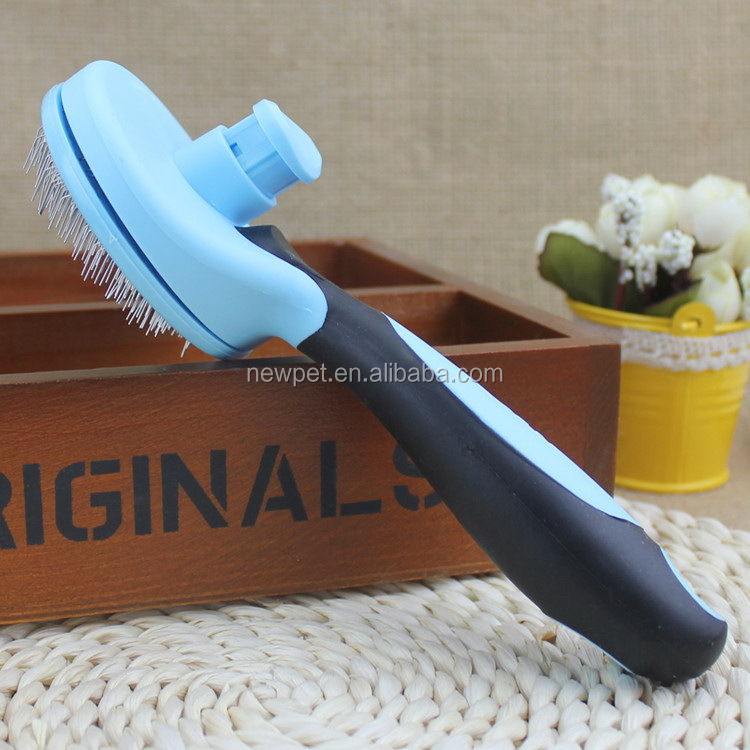 Most popular latest design stainless steel pin dog brush dog bath glove brush comb