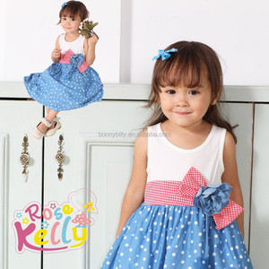 kids clothes wholesale china rose kelly fashion dress for baby girls of 2 years