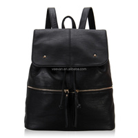 5PCS/Lot Free shipping High quality good design girl leather backpack