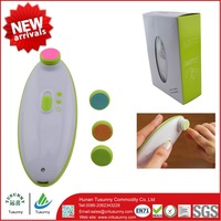 new baby safety product kids safety nail clipper electric nail trimmer