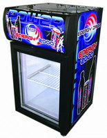 SC Series cooler stand Upright vertical open glass door Display Chiller Refrigerating freezer for pepsi cola soft energy drink