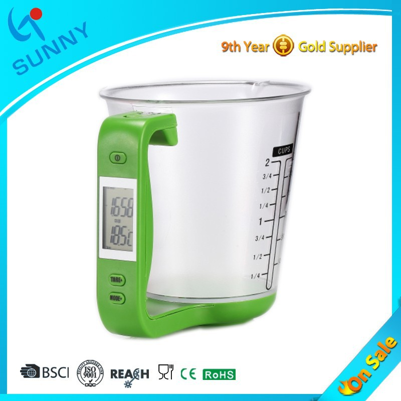 Sunny Fashion 1kg 1g 600ml Digital Measuring Cup Scale