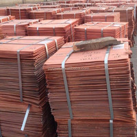 pure copper cathode Copper Rods (99.99min) Cathodes 99.99% Grade A Factory Price