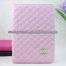 2013 hotselling wholesale genuine leather case for ipad mini