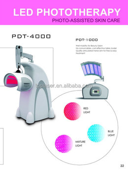 skin tightening and resurfacing equipment led photo therapy