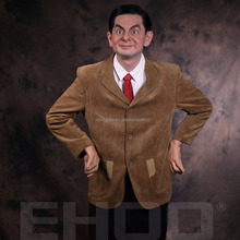 Custom Made Hollywood Star Famous movie character Mr.Bean Life Size Wax Figure