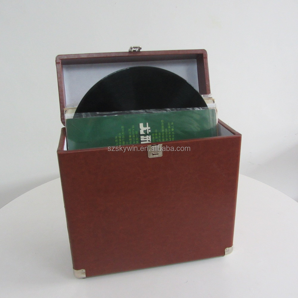 2015 Skywin Portable Vintage Vinyl record case holder