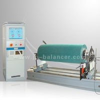 2015 Squeegee roller dynamic balancing machine