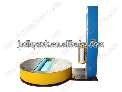 Stretch Film Paper Roll Wrapping Machine