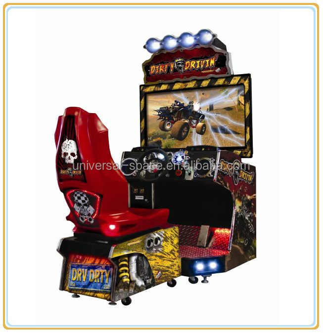 Dirty Driven Amusement game and arcade game machine