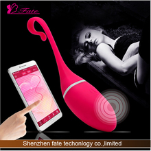 mobile bluetooth APP function wireless bullets vibrating sex vibrator for women body massage vibrator machine