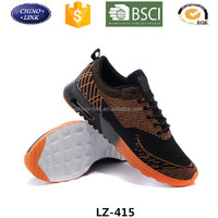 New arrival brand air fashion design cheap flywoven shoes in china factory made for men and women