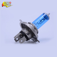 High Efficiency Wholesale 12v 60 55w h4 p43t 24v 75w auto halogen bulb/double halogen lamp h4