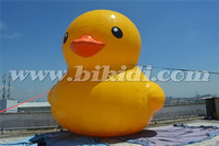 Giant inflatable yellow duck, air tight/sealed inflatable duck for advertising K2086