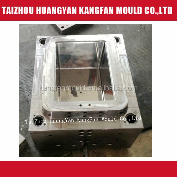 Injection plastic storage bin mould manufacturer in taizhou kangfan factory
