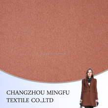 100 wool microfiber wool sherpa fabric, for women suits and jacket