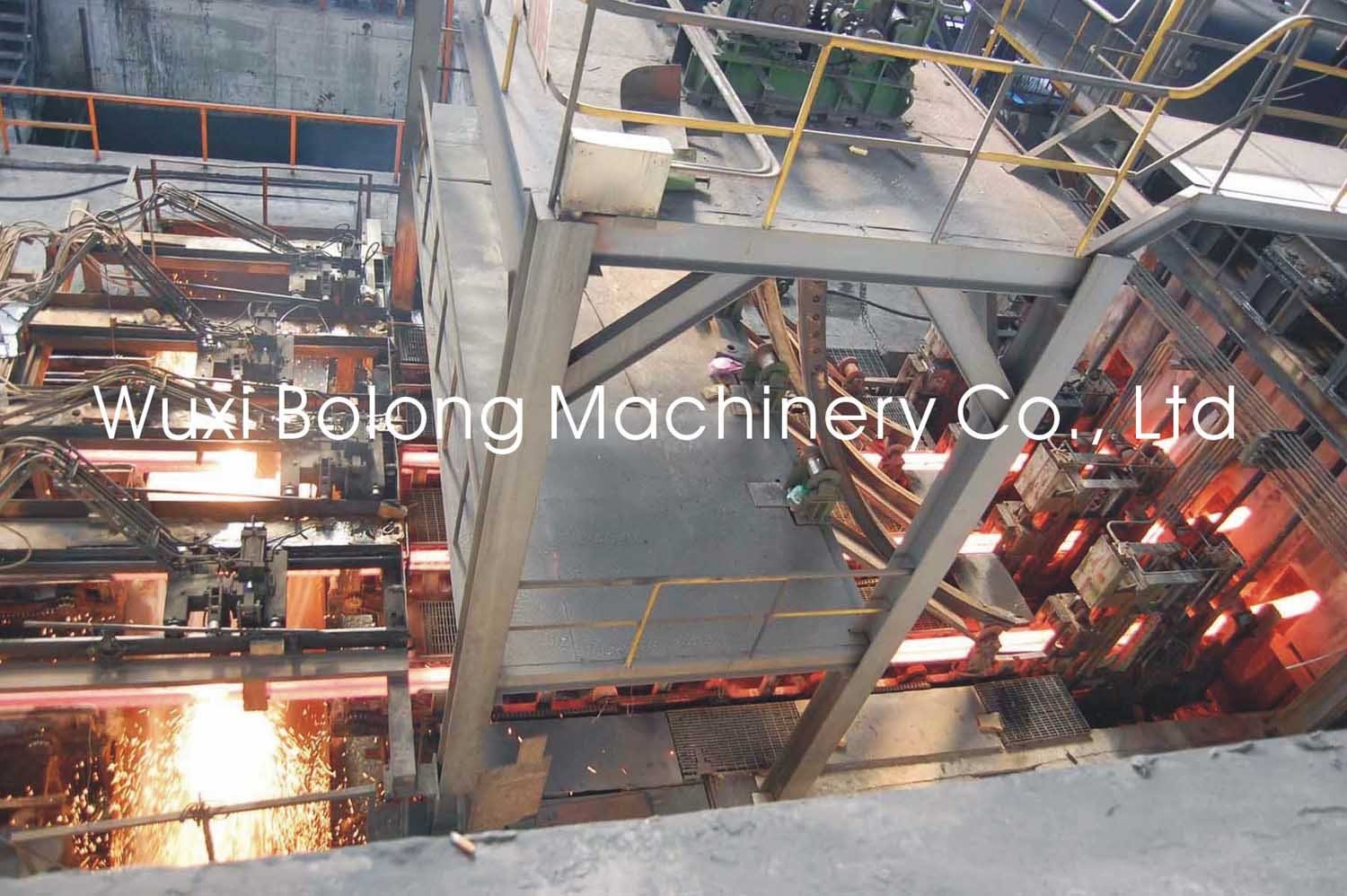 Price Of Iron Upward Copper Continuous Casting Machine