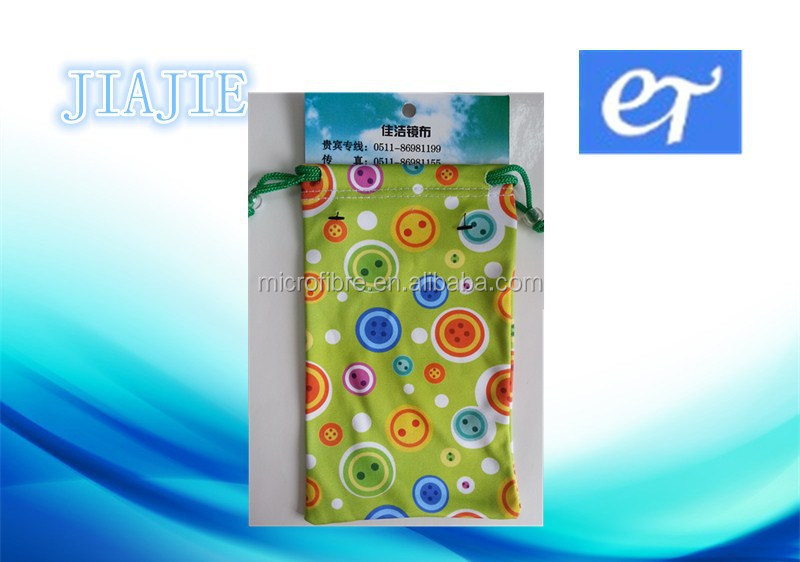 wholesale microfiber mobile phone pouch