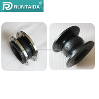 High quality galvanized single bellow rubber expansion joints