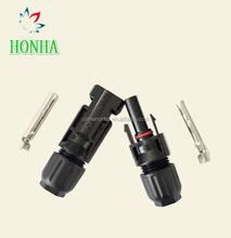 Waterproof Power Solar PV Male Female Copper 2 Pin MC4 connector