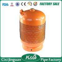 M16*1.5 brass valve 5kgs empty LPG gas cylinder for Nigeria , Africa 5kg LPG gas cylinder, home cooking cylinder