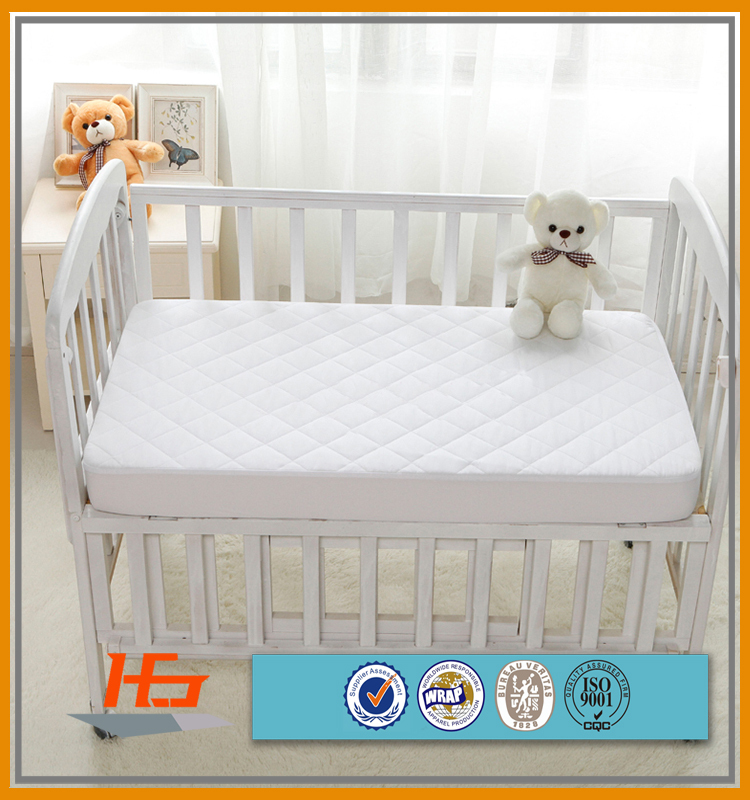 100 % cotton Wholesale Wateproof Quilted Fabric for Crib Mattress Cover