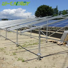 High quality steel pv structure, custom solar ground mount design