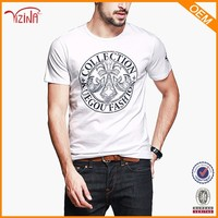 Manufactory Custom Logo Print White T Shirt