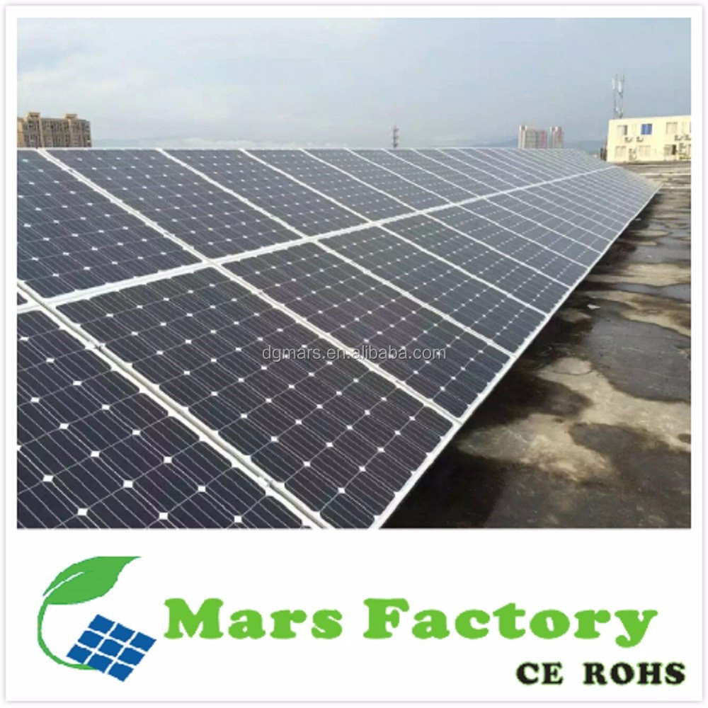 Market niche Home use 10kw free energy solar stands for solar panel