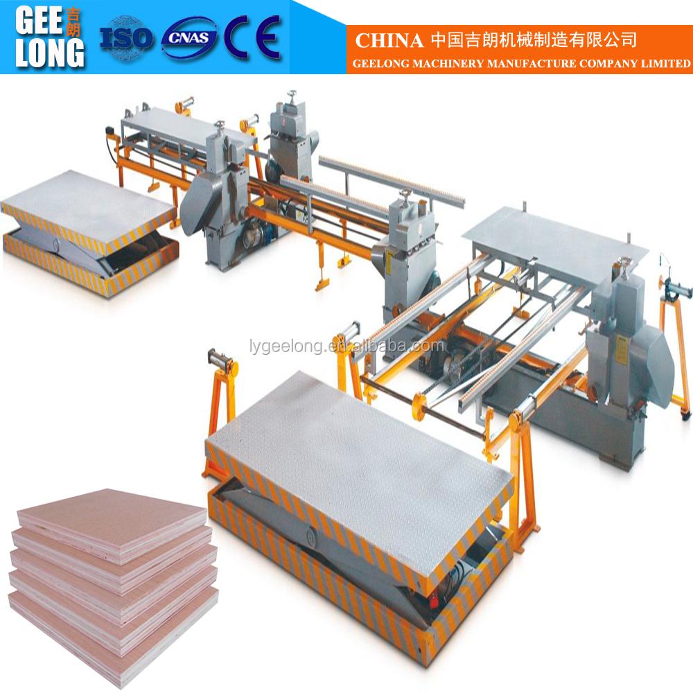 Plywood Cutting Machine ~ Wood cutting panel saw machine plywood double edge