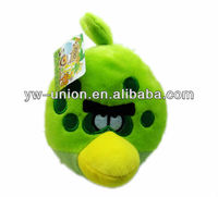 Electronic Laughing Vibrating Plush Angly Bird Stuffed Toy