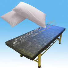 disposable nonwoven SMS bed cover sets or fitted sheet to prevent examination from blood and dust