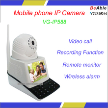 Wireless alarm Remote monitor Video call Mobile phone H.264 USB Micro SD CMOS WIFI IP Camera