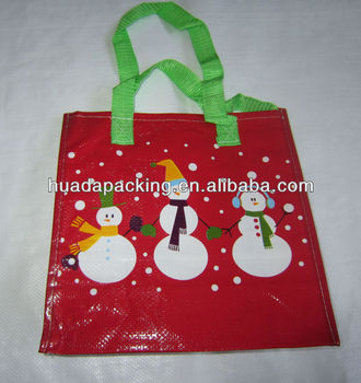 2015 Reusable Christmas Bag